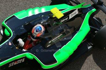 World © Octane Photographic Ltd. Sunday 23rd November 2014. GP3 Race 2 – Abu Dhabi GP - Yas Marina Circuit, United Arab Emirates. Richie Stanaway - Status Grand Prix. Digital Ref :1169CB1D6614