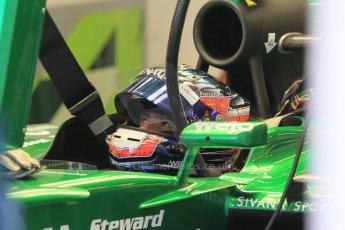 World © Octane Photographic Ltd. Tuesday 25th November 2014. Abu Dhabi Testing - Yas Marina Circuit. Caterham F1 Team CT05 – William Stevens. Digital Ref: 1174CB1D7990