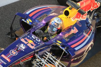World © Octane Photographic Ltd. Tuesday 25th November 2014. Abu Dhabi Testing - Yas Marina Circuit. Infiniti Red Bull Racing RB10 – Carlos Sainz jr. Digital Ref: 1174CB1D8052