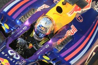 World © Octane Photographic Ltd. Tuesday 25th November 2014. Abu Dhabi Testing - Yas Marina Circuit. Infiniti Red Bull Racing RB10 – Carlos Sainz jr. Digital Ref: 1174CB1D8056