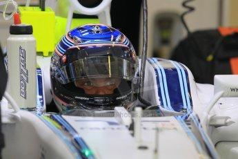 World © Octane Photographic Ltd. Tuesday 25th November 2014. Abu Dhabi Testing - Yas Marina Circuit. Williams Racing FW36 – Valtteri Bottas. Digital Ref: 1174CB1D8157