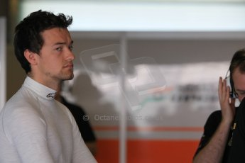 World © Octane Photographic Ltd. Tuesday 25th November 2014. Abu Dhabi Testing - Yas Marina Circuit. Sahara Force India VJM07 – Jolyon Palmer. Digital Ref : 1174CB1D8176