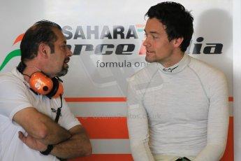 World © Octane Photographic Ltd. Tuesday 25th November 2014. Abu Dhabi Testing - Yas Marina Circuit. Sahara Force India VJM07 – Jolyon Palmer. Digital Ref : 1174CB1D8187