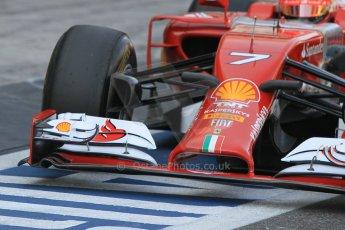 World © Octane Photographic Ltd. Tuesday 25th November 2014. Abu Dhabi Testing - Yas Marina Circuit. Scuderia Ferrari F14T - Kimi Raikkonen. Digital Ref: 1174CB1D8265