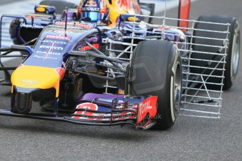 World © Octane Photographic Ltd. Tuesday 25th November 2014. Abu Dhabi Testing - Yas Marina Circuit. Infiniti Red Bull Racing RB10 – Carlos Sainz jr. Digital Ref: 1174CB1D8271