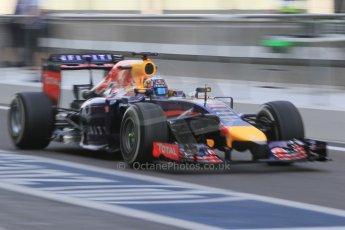 World © Octane Photographic Ltd. Tuesday 25th November 2014. Abu Dhabi Testing - Yas Marina Circuit. Infiniti Red Bull Racing RB10 – Carlos Sainz jr. Digital Ref: 1174CB1D8311