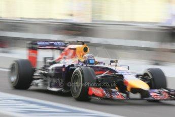 World © Octane Photographic Ltd. Tuesday 25th November 2014. Abu Dhabi Testing - Yas Marina Circuit. Infiniti Red Bull Racing RB10 – Carlos Sainz jr. Digital Ref: 1174CB1D8361