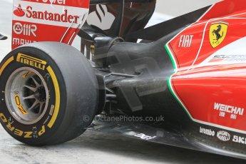 World © Octane Photographic Ltd. Tuesday 25th November 2014. Abu Dhabi Testing - Yas Marina Circuit. Scuderia Ferrari F14T - Kimi Raikkonen. Digital Ref: 1174CB1D8385
