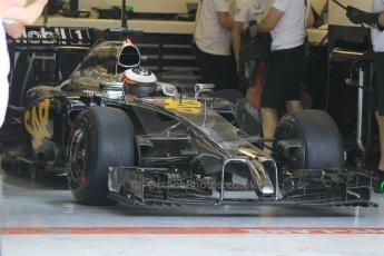 World © Octane Photographic Ltd. Tuesday 25th November 2014. Abu Dhabi Testing - Yas Marina Circuit. McLaren Honda MP4-29H/1X1 - Stoffel Vandoorne. Digital Ref: 1174CB1D8512