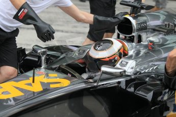 World © Octane Photographic Ltd. Tuesday 25th November 2014. Abu Dhabi Testing - Yas Marina Circuit. McLaren Honda MP4-29H/1X1 - Stoffel Vandoorne. Digital Ref: 1174CB1D8597