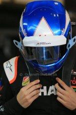 World © Octane Photographic Ltd. Tuesday 25th November 2014. Abu Dhabi Testing - Yas Marina Circuit. Sahara Force India VJM07 – Jolyon Palmer. Digital Ref : 1174LB1D7730