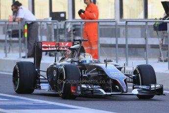 World © Octane Photographic Ltd. Tuesday 25th November 2014. Abu Dhabi Testing - Yas Marina Circuit. Sauber C33 – Marcus Ericsson. Digital Ref: 1174LB1D7777