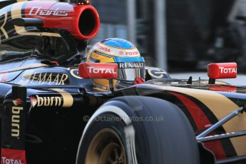 World © Octane Photographic Ltd. Tuesday 25th November 2014. Abu Dhabi Testing - Yas Marina Circuit. Lotus F1 Team E22 – Charles Pic. Digital Ref: 1174LB1D7958