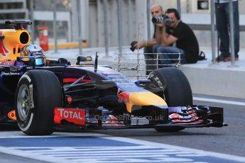 World © Octane Photographic Ltd. Tuesday 25th November 2014. Abu Dhabi Testing - Yas Marina Circuit. Infiniti Red Bull Racing RB10 – Carlos Sainz jr. Digital Ref: 1174LB1D8059