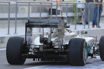World © Octane Photographic Ltd. Tuesday 25th November 2014. Abu Dhabi Testing - Yas Marina Circuit. Mercedes AMG Petronas F1 W05 Hybrid – Nico Rosberg. Digital Ref: 1174LB1D8086
