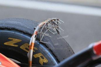 World © Octane Photographic Ltd. Tuesday 25th November 2014. Abu Dhabi Testing - Yas Marina Circuit. Scuderia Ferrari F14T - Kimi Raikkonen. Tech. Digital Ref: 1174LB1D8098