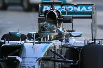 World © Octane Photographic Ltd. Tuesday 25th November 2014. Abu Dhabi Testing - Yas Marina Circuit. Mercedes AMG Petronas F1 W05 Hybrid – Nico Rosberg. Digital Ref: 1174LB1D8134