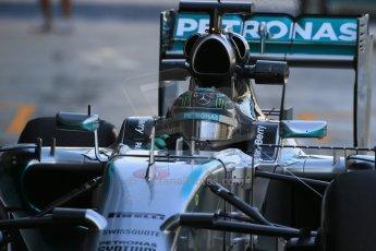 World © Octane Photographic Ltd. Tuesday 25th November 2014. Abu Dhabi Testing - Yas Marina Circuit. Mercedes AMG Petronas F1 W05 Hybrid – Nico Rosberg. Digital Ref: 1174LB1D8140