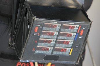 World © Octane Photographic Ltd. Wednesday 26th November 2014. Abu Dhabi Testing - Yas Marina Circuit. Scuderia Ferrari tyre warmer control boxes. Digital Ref: 1175CB1D8616