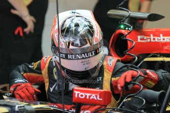 World © Octane Photographic Ltd. Wednesday 26th November 2014. Abu Dhabi Testing - Yas Marina Circuit. Lotus F1 Team E22 – Esteban Ocon. Digital Ref: 1175CB1D8630