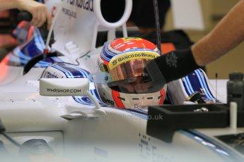 World © Octane Photographic Ltd. Wednesday 26th November 2014. Abu Dhabi Testing - Yas Marina Circuit. Williams Racing FW36 – Felipe Nasr. Digital Ref: 1175CB1D8689