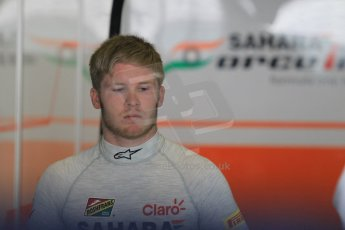 World © Octane Photographic Ltd. Wednesday 26th November 2014. Abu Dhabi Testing - Yas Marina Circuit. Sahara Force India VJM07 – Spike Goddard. Digital Ref: 1175CB1D8753