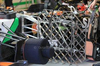 World © Octane Photographic Ltd. Wednesday 26th November 2014. Abu Dhabi Testing - Yas Marina Circuit. Sahara Force India VJM07 aero test sensors. Digital Ref: 1175CB1D8789