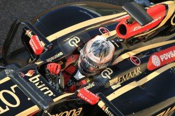 World © Octane Photographic Ltd. Wednesday 26th November 2014. Abu Dhabi Testing - Yas Marina Circuit. Lotus F1 Team E22 – Esteban Ocon. Digital Ref: 1175CB1D8839