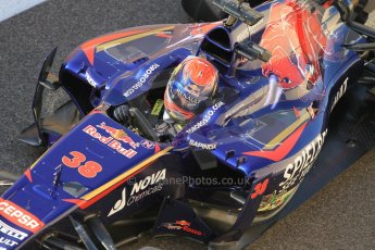 World © Octane Photographic Ltd. Wednesday 26th November 2014. Abu Dhabi Testing - Yas Marina Circuit. Scuderia Toro Rosso STR 9 – Max Verstappen. Digital Ref: 1175CB1D8892