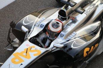 World © Octane Photographic Ltd. Wednesday 26th November 2014. Abu Dhabi Testing - Yas Marina Circuit. McLaren Honda MP4-29/1X1 – Stoffel Vandoorne. Digital Ref: 1175CB1D9630