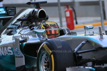 World © Octane Photographic Ltd. Wednesday 26th November 2014. Abu Dhabi Testing - Yas Marina Circuit. Mercedes AMG Petronas F1 W05 Hybrid - Pascal Wehrlein. Digital Ref: 1175LB1D8413