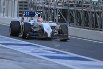 World © Octane Photographic Ltd. Wednesday 26th  November 2014. Abu Dhabi Testing - Yas Marina Circuit. Williams Racing FW36 – Felipe Nasr. Digital Ref: 1175LB1D8477