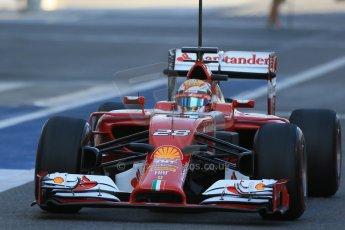 World © Octane Photographic Ltd. Wednesday 26th  November 2014. Abu Dhabi Testing - Yas Marina Circuit. Scuderia Ferrari F14T – Raffaele Marciello. Digital Ref: 1175LB1D8615