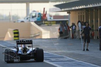 World © Octane Photographic Ltd. Wednesday 26th  November 2014. Abu Dhabi Testing - Yas Marina Circuit. Infiniti Red Bull Racing RB10 – Daniel Ricciardo. Digital Ref: 1175LB1D8677
