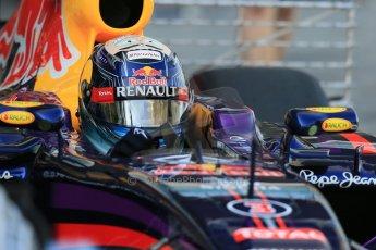 World © Octane Photographic Ltd. Wednesday 26th November 2014. Abu Dhabi Testing - Yas Marina Circuit. Infiniti Red Bull Racing RB10 – Daniel Ricciardo. Digital Ref: 1175LB1D8738