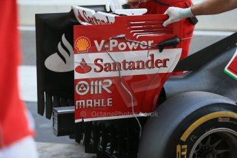 World © Octane Photographic Ltd. Wednesday 26th November 2014. Abu Dhabi Testing - Yas Marina Circuit. Scuderia Ferrari F14T – Technical. Digital Ref: 1175LB1D8783