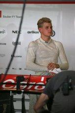World © Octane Photographic Ltd. Wednesday 26th November 2014. Abu Dhabi Testing - Yas Marina Circuit. Sauber C33 – Marcus Ericsson. Digital Ref : 1175LB1D8959