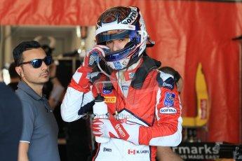 World © Octane Photographic Ltd. Thursday 27th November 2014. GP2 Testing - Yas Marina, United Arab Emirates. Nicolas Latifi - Racing Engineering. Digital Ref :
