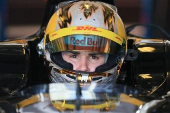 World © Octane Photographic Ltd. Thursday 27th November 2014. GP2 Testing - Yas Marina, United Arab Emirates. Daniel Abt - Hilmer Motorsport. Digital Ref: 1177LB1D9800