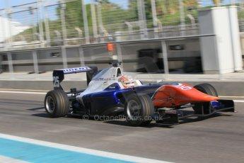 World © Octane Photographic Ltd. Thursday 27th November 2014. GP3 Testing - Yas Marina, United Arab Emirates. Luca Ghiotto - Trident. Digital Ref :