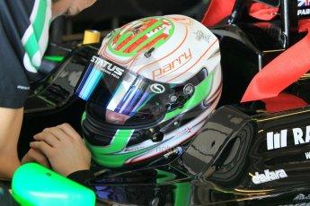 World © Octane Photographic Ltd. Thursday 27th November 2014. GP3 Testing - Yas Marina, United Arab Emirates. Matt Parry - Status Grand Prix. Digital Ref :