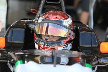 World © Octane Photographic Ltd. Thursday 27th November 2014. GP3 Testing - Yas Marina, United Arab Emirates. Christopher Mies - Hilmer Motorsport. Digital Ref :