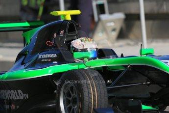 World © Octane Photographic Ltd. Thursday 27th November 2014. GP3 Testing - Yas Marina, United Arab Emirates. Matt Parry - Status Grand Prix. Digital Ref : 1176LB1D9304