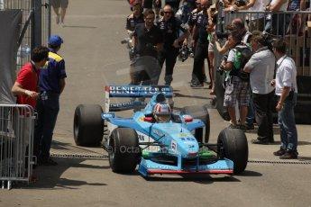 World © Octane Photographic Ltd. Sunday 22nd June 2014. Red Bull Ring, Spielberg – Austria, Formula 1 Legends. Alexander Wurz- Benetton B199.  Digital Ref: 1003LB1D1744