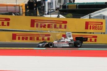 World © Octane Photographic Ltd. Sunday 22nd June 2014. Red Bull Ring, Spielberg – Austria, Formula 1 Legends. Dieter Quester. - Surtees TS16. Digital Ref: 1003LB1D4529