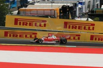 World © Octane Photographic Ltd. Sunday 22nd June 2014. Red Bull Ring, Spielberg – Austria, Formula 1 Legends. Niki Lauda - Ferrari 321T2. Digital Ref: 1003LB1D4609
