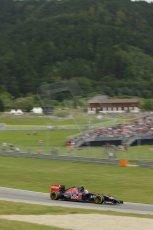 World © Octane Photographic Ltd. Saturday 21st June 2014. Red Bull Ring, Spielberg - Austria - Formula 1 Practice 3. Scuderia Toro Rosso STR 9 – Daniil Kvyat. Digital Ref: 0995LB1D1343