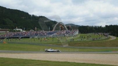 World © Octane Photographic Ltd. Saturday 21st June 2014. Red Bull Ring, Spielberg - Austria - Formula 1 Practice 3. Mercedes AMG Petronas F1 W05 Hybrid - Nico Rosberg. Digital Ref: 0995LB1DX1944