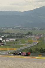 World © Octane Photographic Ltd. Friday 20th June 2014. Red Bull Ring, Spielberg - Austria - Formula 1 Practice 1.  Scuderia Toro Rosso STR 9 – Daniil Kvyat. Digital Ref: 0991LB1D0737