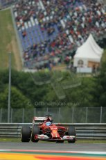 World © Octane Photographic Ltd. Friday 20th June 2014. Red Bull Ring, Spielberg - Austria - Formula 1 Practice 1. Scuderia Ferrari F14T - Fernando Alonso. Digital Ref: 0991LB1D9701